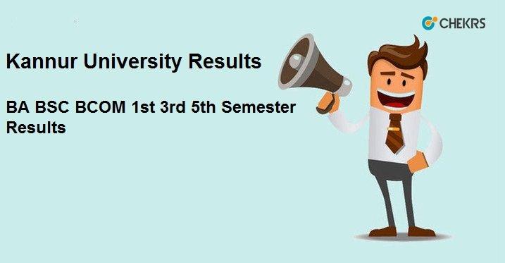 kannur univversity result