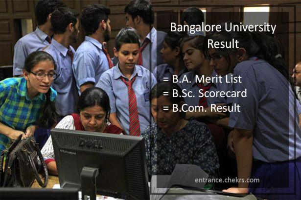Bangalore University Result: Download Pdf