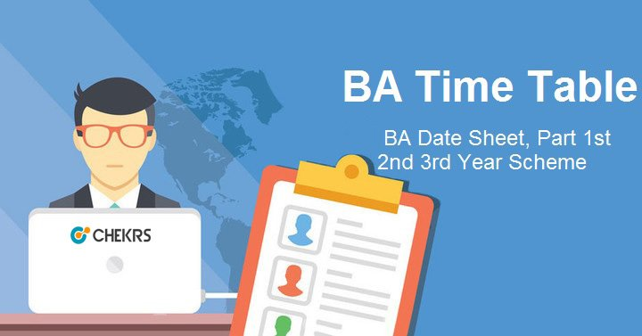 ba time table 2019 pdf