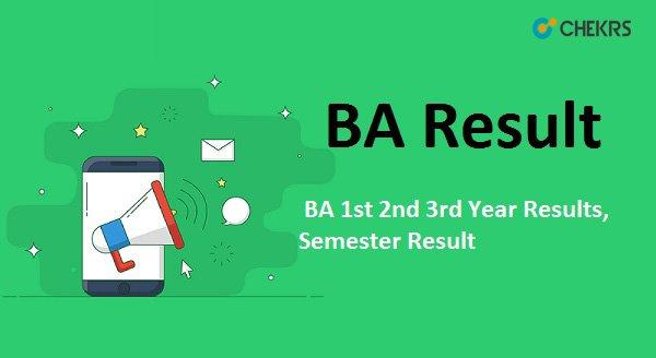 ba result