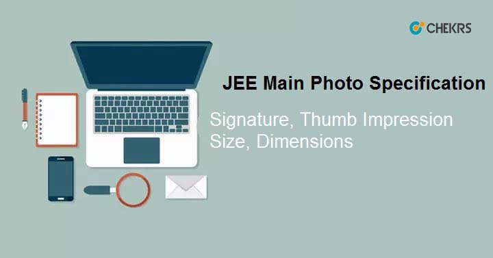 JEE Main Photo Specification
