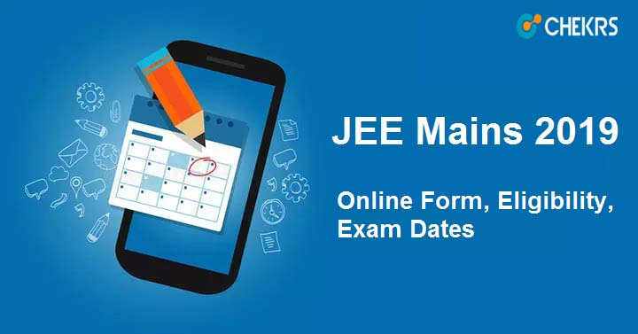 jee mains 2019 application form
