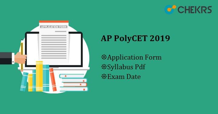 AP PolyCET Application Form Exam Date