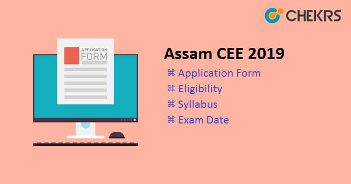 Assam CEE Application Form exam date