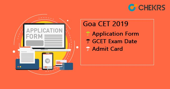 Goa CET Application Form