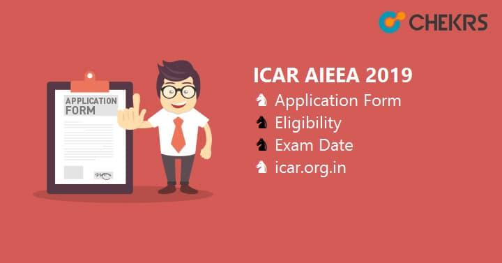 ICAR AIEEA Application Form