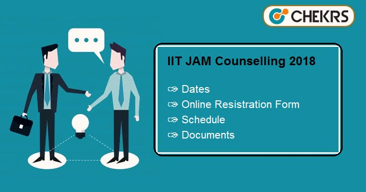 IIT JAM Counselling Online Form