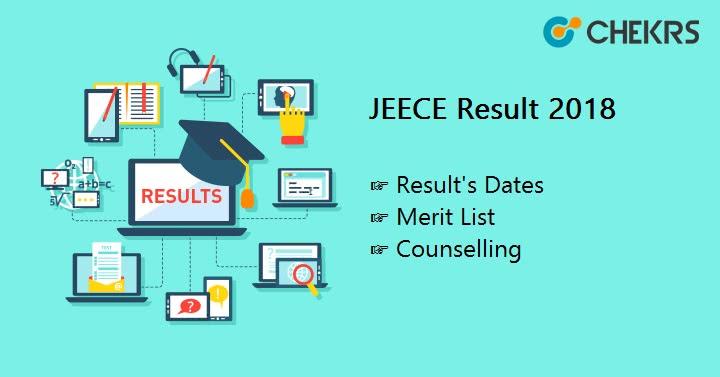 JEECE Result Merit list counselling
