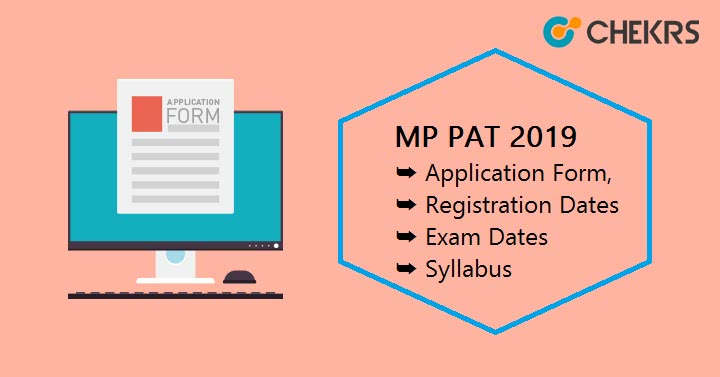 MP PAT Application Form Exam Dates
