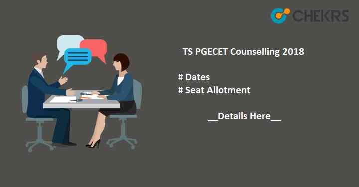 TS PGECET Counselling Dates,