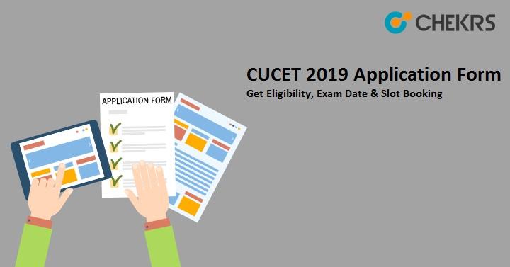 cucet 2019 application form, eligibility