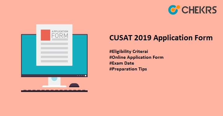 cusat 2019 application form