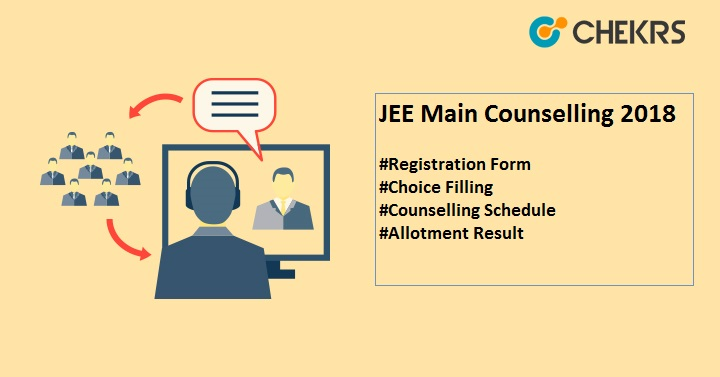 jee main counselling 2018