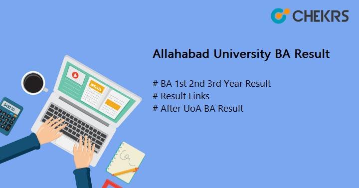 Allahabad University BA Result