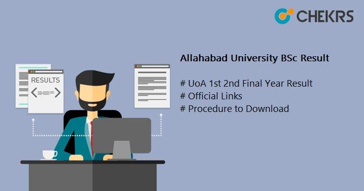 Allahabad University BSc Result