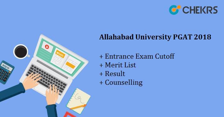 Allahabad University PGAT Results 2018