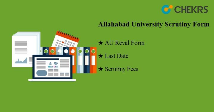Allahabad University Scrutiny Form