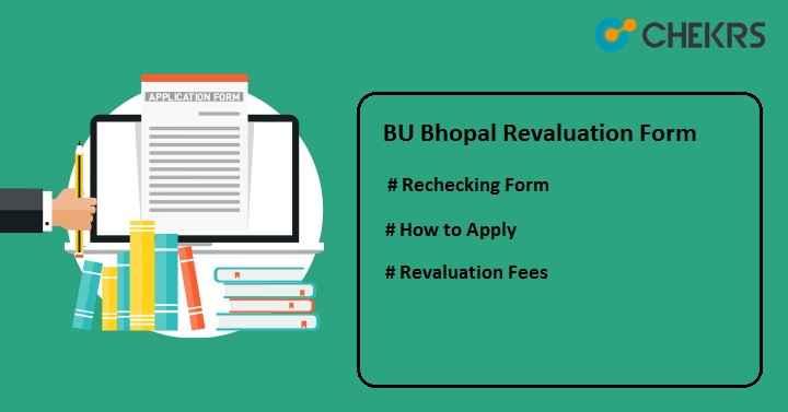 BU Bhopal Revaluation Form