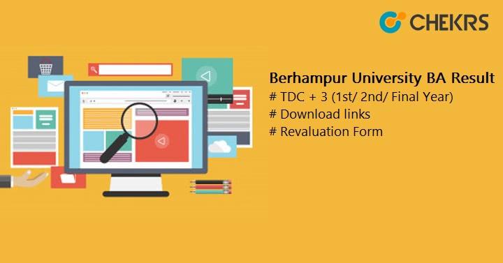 Berhampur University BA Result