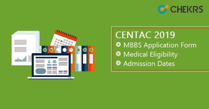 CENTAC MBBS Application Form Medical Eligibility