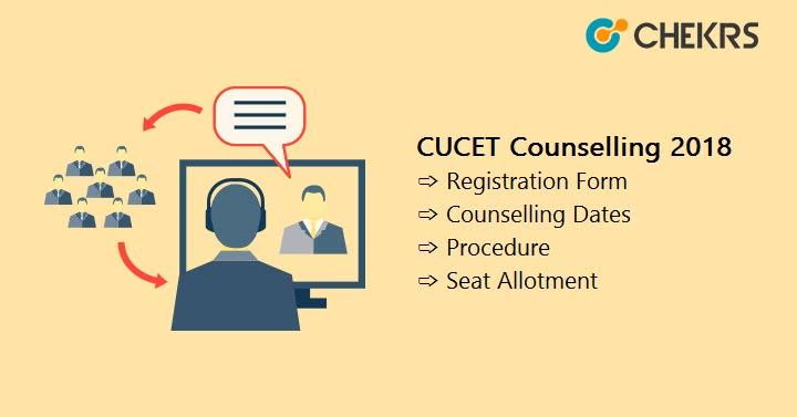 CUCET Counselling seat allotment