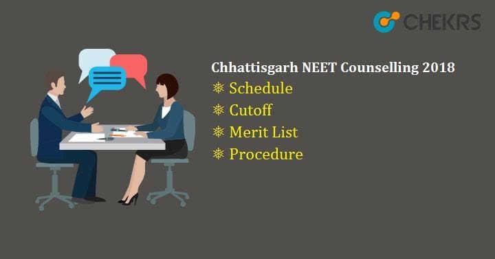 Chhattisgarh NEET Counselling