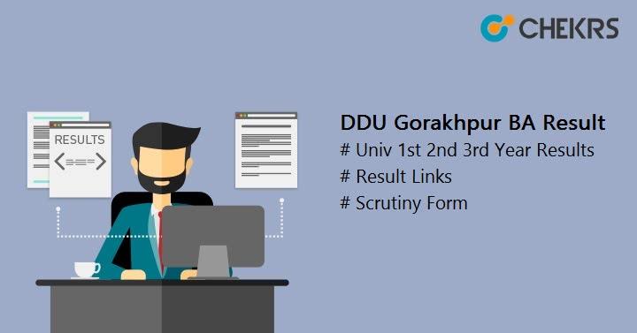 DDU Gorakhpur BA Result
