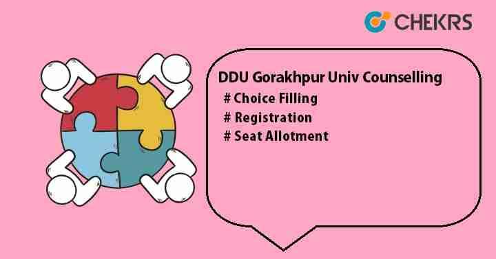 DDU Gorakhpur Univ Counselling