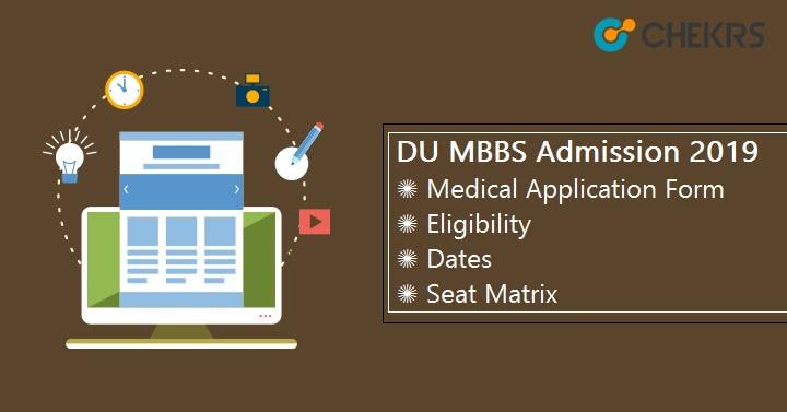 DU MBBS Admission Medical Application Form