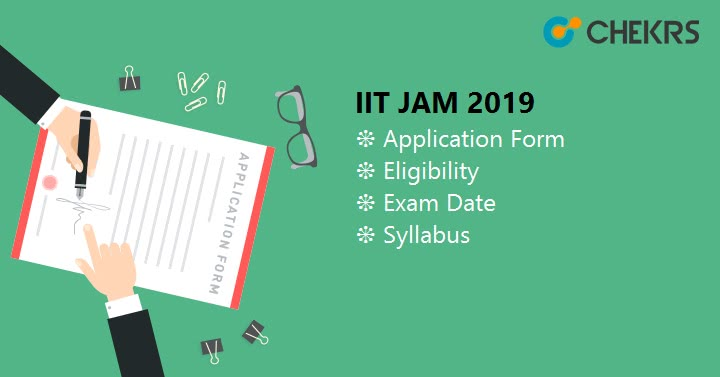 IIT JAM Application