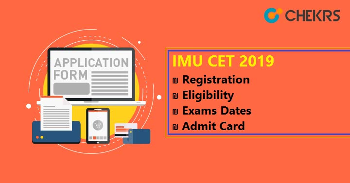 IMU CET Registration Exams Dates