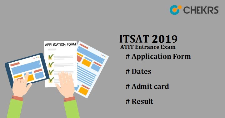 ITSAT ATIT Entrance Exam