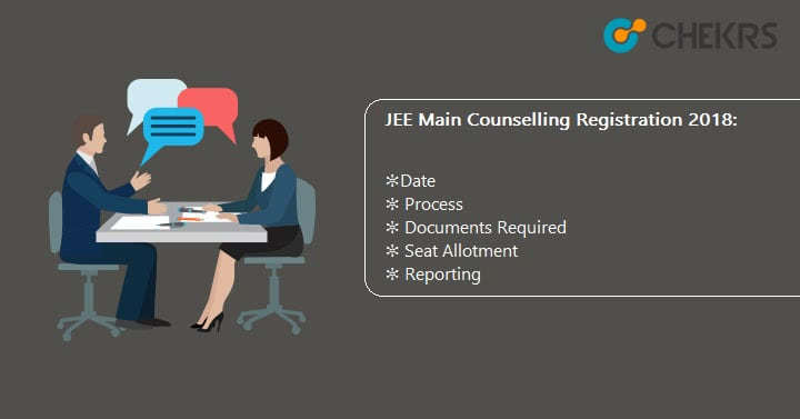 JEE Main Counselling Registration