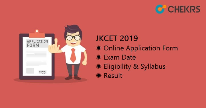 JKCET Online Application Form