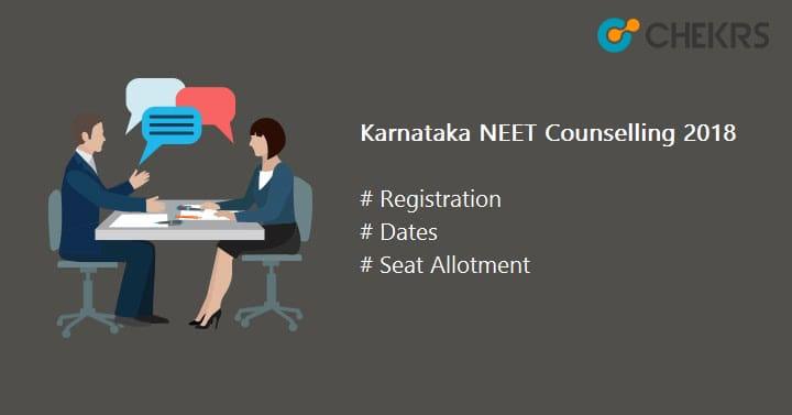 Karnataka NEET Counselling