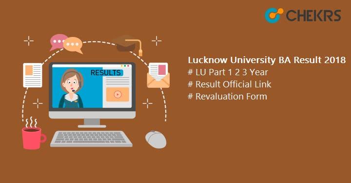 Lucknow University BA Result
