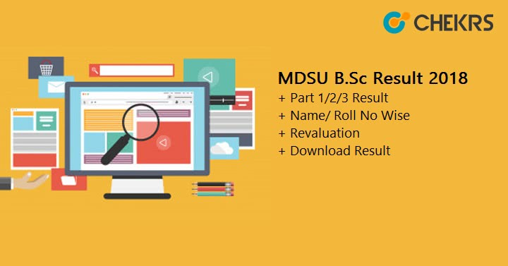 MDSU B.Sc Result Download