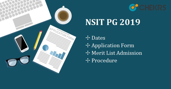 NSIT PG Application Form