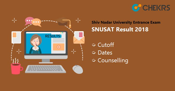Shiv Nadar University Entrance Exam SNUSAT Result