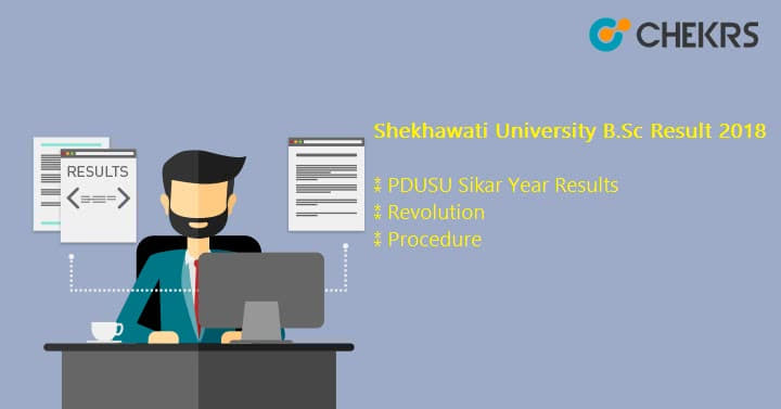 Shekhawati University B.Sc Result