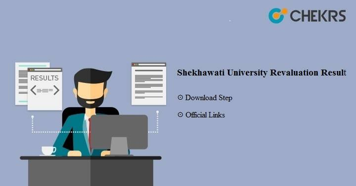 Shekhawati University Revaluation Result