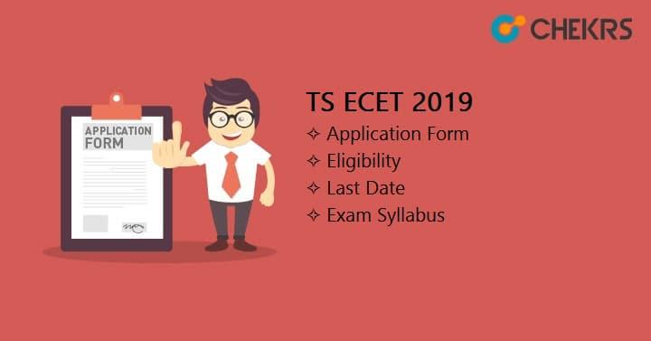 TS ECET Application Form
