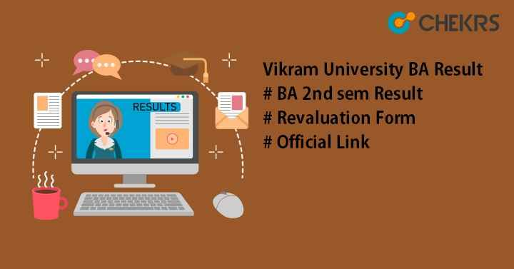 Vikram University BA Result