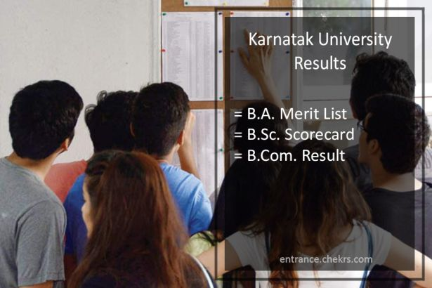 Karnatak University Result 2019- Download pdf