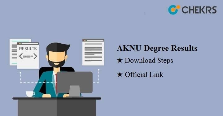 AKNU Degree Results