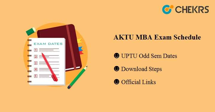 AKTU MBA Exam Schedule