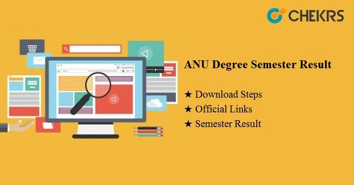 ANU Degree Semester Results