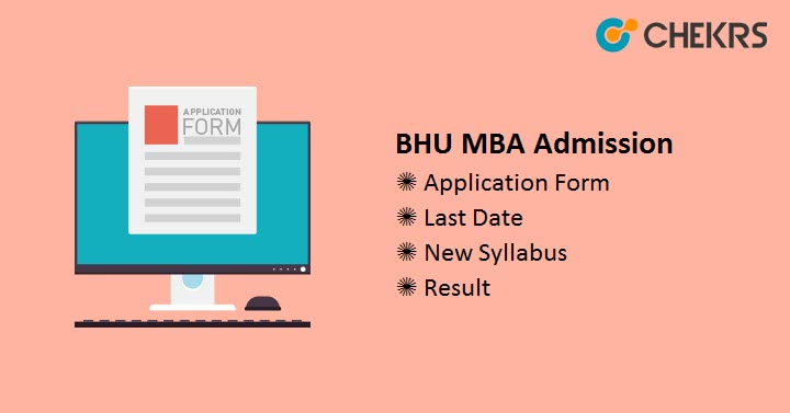 BHU MBA Admission Application Form, Admission