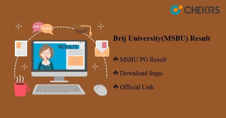 Brij University (MSBU) Result