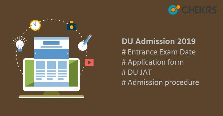 DU Admission Application for UG PG